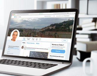GRDF Auvergne-Rhône-Alpes : social selling et communication d'influence sur Twitter