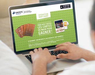 IMERYS Toiture : jeu concours «Opération Very Lucky»