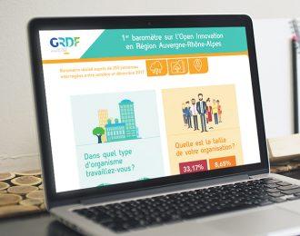 GRDF : Open Innovation en région Auvergne-Rhône-Alpes
